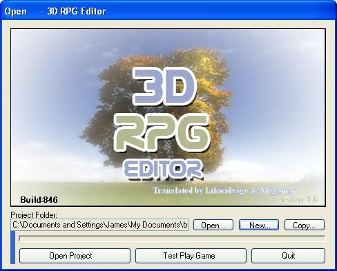 3d Rpg Editor