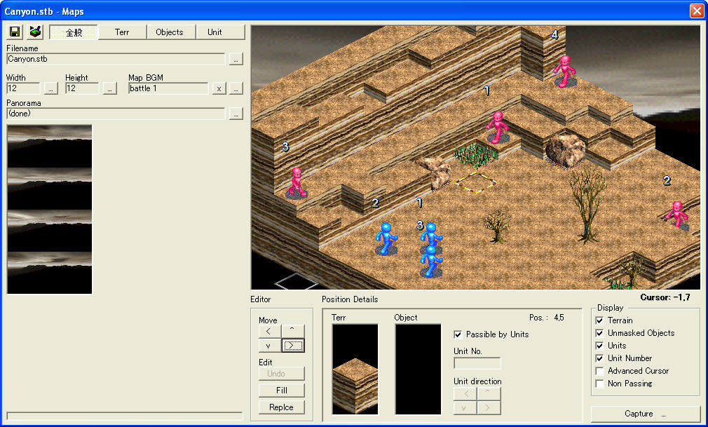 Tactical Role Playing Game Maker